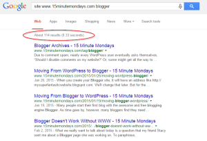 15MinuteMondays Site Search